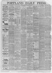 Portland Daily Press: July 03,1885