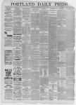 Portland Daily Press: July 04,1885