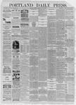 Portland Daily Press: July 06,1885