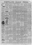 Portland Daily Press: July 07,1885