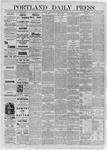 Portland Daily Press: July 08,1885