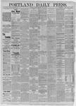 Portland Daily Press: July 10,1885