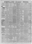 Portland Daily Press: July 11,1885