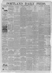 Portland Daily Press: July 13,1885