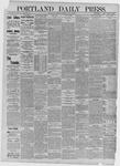 Portland Daily Press: July 16,1885