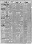 Portland Daily Press: July 23,1885