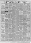 Portland Daily Press: July 27,1885