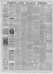 Portland Daily Press: July 29,1885