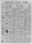 Portland Daily Press: July 30,1885