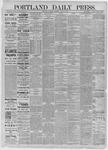 Portland Daily Press: August 08,1885
