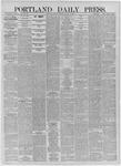 Portland Daily Press: August 10,1885
