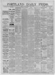 Portland Daily Press: August 17,1885