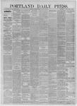 Portland Daily Press: August 18,1885