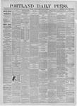 Portland Daily Press: August 22,1885