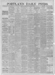 Portland Daily Press: August 26,1885