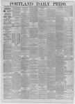 Portland Daily Press: August 29,1885