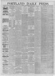 Portland Daily Press: August 31,1885