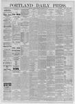 Portland Daily Press: September 03,1885