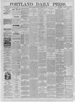 Portland Daily Press: September 04,1885