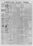 Portland Daily Press: September 07,1885