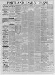 Portland Daily Press: September 09,1885