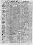 Portland Daily Press: September 16,1885