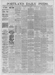 Portland Daily Press: September 21,1885