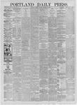 Portland Daily Press: September 22,1885