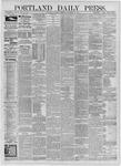 Portland Daily Press: September 26,1885