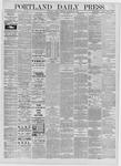 Portland Daily Press: September 29,1885