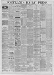 Portland Daily Press: September 30,1885