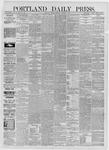 Portland Daily Press: October 02,1885