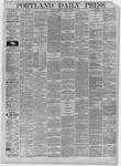 Portland Daily Press: October 06,1885