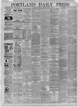 Portland Daily Press: October 07,1885
