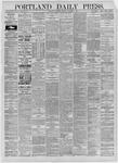 Portland Daily Press: October 08,1885