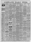 Portland Daily Press: October 10,1885
