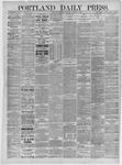 Portland Daily Press: October 17,1885