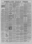 Portland Daily Press: October 26,1885