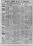 Portland Daily Press: October 28,1885