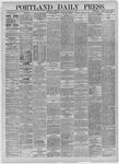 Portland Daily Press: October 29,1885