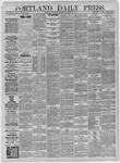 Portland Daily Press: November 04,1885