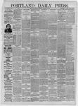 Portland Daily Press: November 05,1885