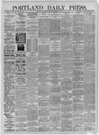 Portland Daily Press: November 07,1885