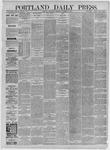 Portland Daily Press: November 11,1885