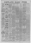Portland Daily Press:  November 16,1885