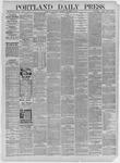 Portland Daily Press: November 18,1885