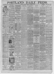 Portland Daily Press: November 21,1885