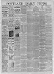 Portland Daily Press:  November 23,1885