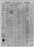 Portland Daily Press: November 24,1885