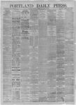 Portland Daily Press:  November 26,1885